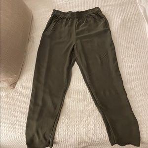 SOLD Women's green slacks